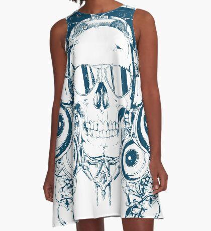 Music Addict A-Line Dress