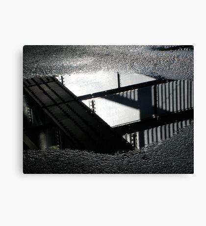 Complex Reflections Canvas Print
