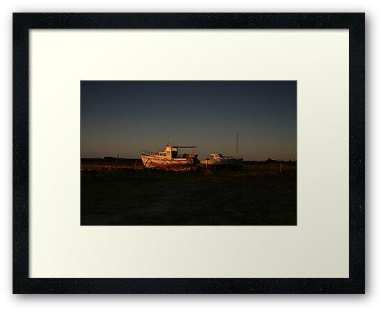 Wooden Boats by Noel Elliot
