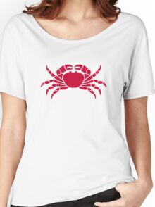 Red crab Women's Relaxed Fit T-Shirt