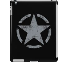 Star Stencil Vintage Jeep Decal Grunge Style iPad Case/Skin