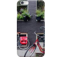 Along the canal, Amsterdam iPhone Case/Skin