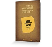 Breaking Bad - Blood Money Greeting Card