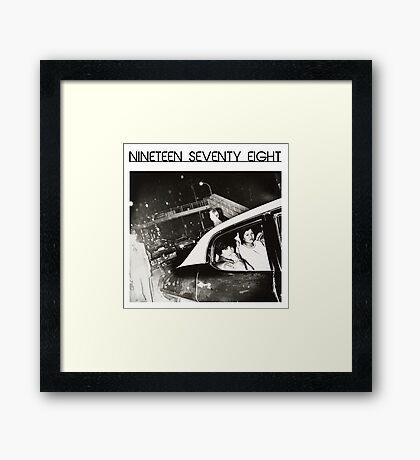 Nineteen Seventy Eight Framed Print