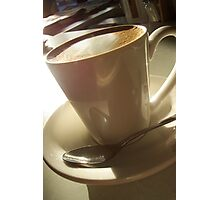 "Afternoon Coffee - ""cafe alto""  Photographic Print"