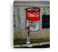 campbells soup Canvas Print