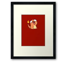 Happy Charmander Framed Print