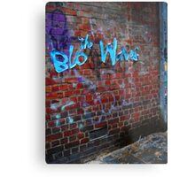 the Blo Waves Metal Print