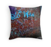 the Blo Waves Throw Pillow