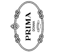 Prima Donna,bow down bitches - Prada Parody (Blk on Wht) by Everett Day