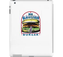 Big Kahuna Burger iPad Case/Skin