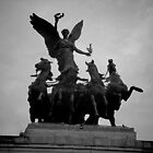 Atop the Wellington Arch by Ron Griggs