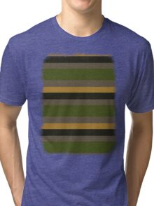Cactus Garden Stripes 4H Tri-blend T-Shirt