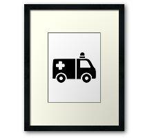 Ambulance Framed Print