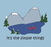 Simple Things - Canoe by Jon Winston