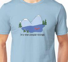 Simple Things - Canoe Unisex T-Shirt