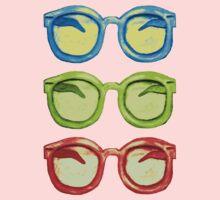 Groovy Sunglasses One Piece - Long Sleeve