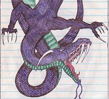 Original Copy Of Blue Dragon  by James F. Stimmel Jr.