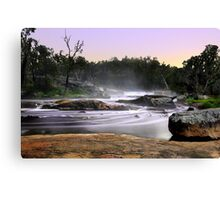 Noble Falls At Dawn Canvas Print