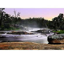 Noble Falls At Dawn Photographic Print