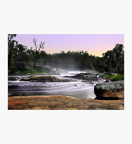 Noble Falls At Dawn Photographic Print
