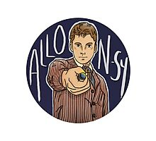 Tenth Doctor - Allons-y! Photographic Print