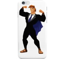 Hercules in a Suit iPhone Case/Skin