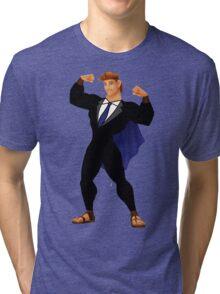 Hercules in a Suit Tri-blend T-Shirt