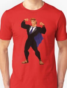 Hercules in a Suit Unisex T-Shirt