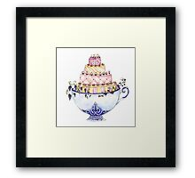 Cupcakelicious Framed Print