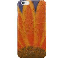 Orange burst iPhone Case/Skin