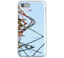 Reflected thornbill iPhone Case/Skin