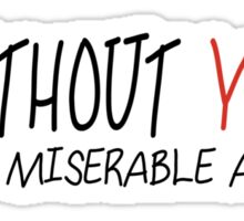 Mayday Parade - Without YOU Sticker