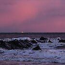 Pink Pacific Sunset by KarenDinan