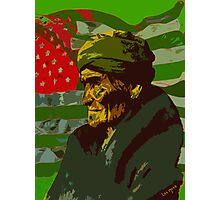 Geronimo In Deafeat Photographic Print
