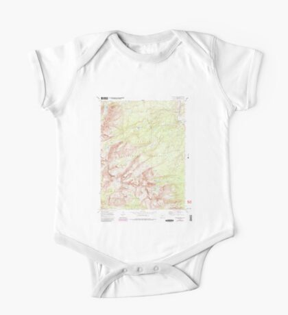 USGS TOPO Map Colorado CO Willow Lakes 234935 1970 24000 One Piece - Short Sleeve