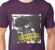 #BelieveInSherlock Unisex T-Shirt
