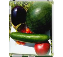 Home Grown Garden Veggies and Fruit iPad Case/Skin