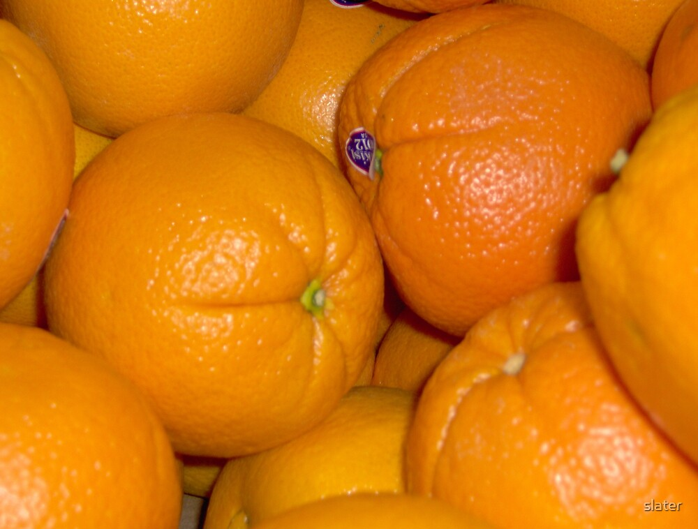 oranges by slater