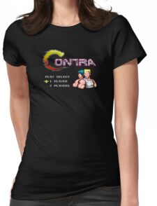 Contra Title Womens Fitted T-Shirt