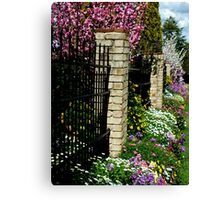 Garden Beauty Toowoomba, Qld, Australia Canvas Print