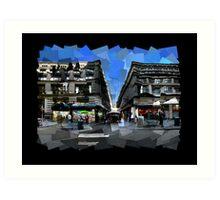 Flinders Lane Art Print