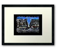 Flinders Lane Framed Print