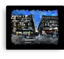 Flinders Lane Canvas Print