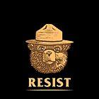Smokey Says Resist by randalldelaney