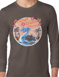 Orange Islands Long Sleeve T-Shirt