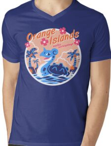 Orange Islands Mens V-Neck T-Shirt