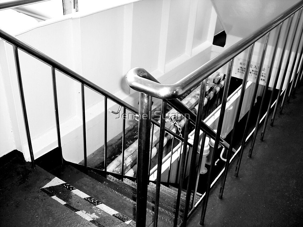 The Stairwell by Jennel Swann