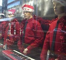 Kraftwerk at Christmas by Nzmillar