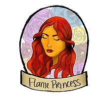 Flame Princess by OliveandNeville